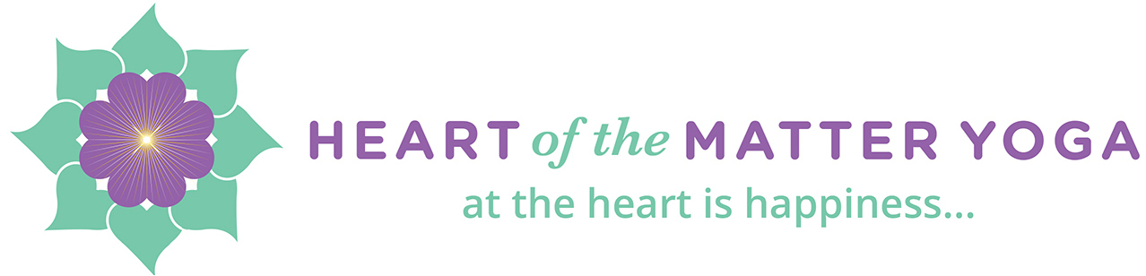 Heart of the Matter Yoga logo